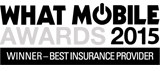 2015 What Mobile Awards Winner Best Insurance provider