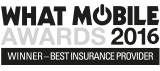 2016 What Mobile Awards Winner Best Insurance provider
