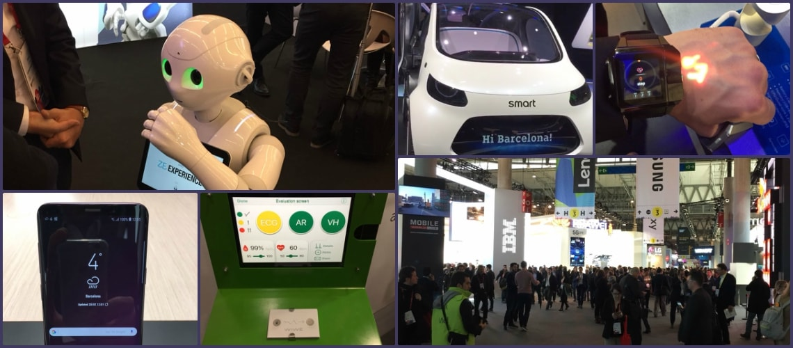 Mobile World Congress Collage