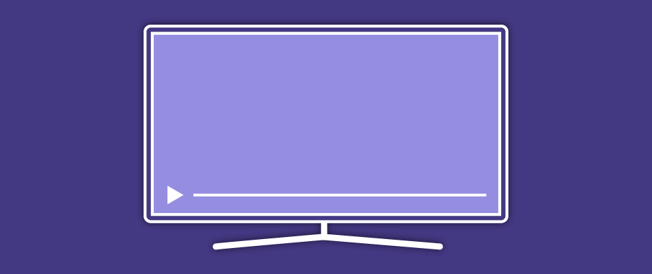 picture of a pc screen with a video streaming service on it