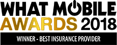 2018 What Mobile Awards Winner Best Insurance provider