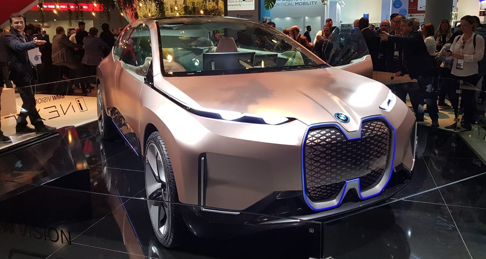 BMW iNEXT driverless car from Mobile World Congress 2019